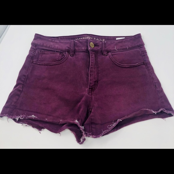 American Eagle Outfitters Pants - American Eagle High Rise Shorty Jean Shorts Size 6